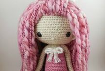 CROCHET & kNITTED DOLLS / Beautiful and cute Knitted and Crochet dolls by different artists