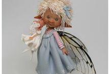 ENAIDSWORLD FAIRY PUPPETS / Beautiful Enaids world fairy Puppets