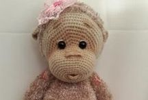 CROCHET & kNITTED ANIMALS / All beautiful Crochet and Knitted animals