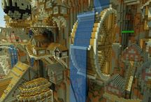 Minecraft inspirations / If you don't know what else to build in Minecraft, look here!