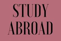 Study Abroad / All you need to know about studying abroad.