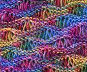 Stricken / zweifarbig stricken