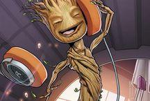 Guardiani della galassia / I am Groot!