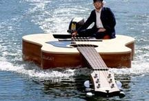 Ride on the water ???