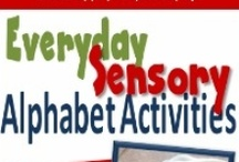 Active alphabet / Alphabet activities for the active children who love to move and not always partial to crafts that mean they need to sit still. / by Mel Avila