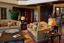 Hawaiian Decor / I am obsessed with Hawaii. Here are my favorite Hawaiian furnishings,tropical furnishings and decor. Also visit my website www.TheHawaiianHome.com