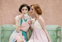 Vintage Clothing / by Angela Feltner