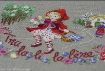Conte Le Petit Chaperon Rouge / The little Red Riding Hood