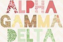 Alpha Gamma Delta / by Emily Lemons