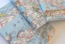 Recycler les cartes / maps upcycling