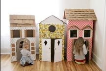 Bricoler le carton /cardboard craft