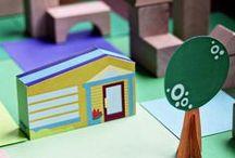 Maisons à imprimer / printing houses