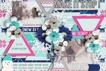 Babe-spiration for SweetShoppeDesigns / Digital Layouts created for Sweet Shoppe Designs by Mary Martinez / by Ma Martinez