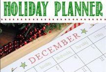 Noël organisation / Christmas planners