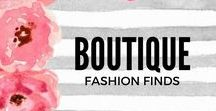 Boutique Fashion / A collection of womens clothing mostly found in boutiques. Unique, quality items that we think deserve a place to be admired.  To be added to this board, email admin@thelillipadboutique.com with your email account linked to your Pinterest. Invites go out Monday of every week.