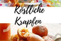 Krapfen & Schmalzgebackenes / Faschingskrapfen und noch mehr Schmalzgebackenes!