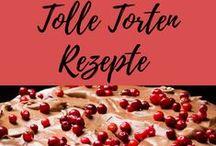 Torten Rezepte / Cremetorte, Schokoladetorte, Himbeertorte, Kürbiskuchen - süße Verführungen in Hülle und Fülle!