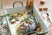 Fisch / Karpfen, Forelle, Saibling, Wels, Lachs und noch mehr schwimmende Köstlichkeiten