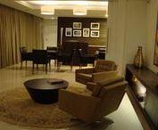 Clássico contemporâneo no projeto de interiores. / Projeto de interiores em residência de 800 m² em Florianópolis.