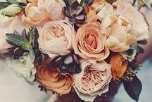 SEASONS: Autumn / Autumn/Fall wedding floral themes
