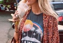 Boho / I love the relaxed, fun and free boho style. Such a joy!