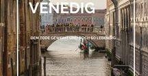 Mythos Venedig - Reisetipps und Inspirationen rund um Venedig / Entdecke Venedig   Dogenpalast und Markuskirche   Canal Grande und wunderschöne Palazzis   ehrwürdige Kirchen wie die Santa Maria della Salute, der Markusplatz und die berühmte Seufzerbrücke