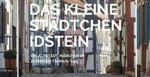 Das kleine Städtchen Idstein / Wunderschöne Altstadt in Deutschland   Kleinod mit altertümlichen Gassen, schmucken Plätzen und liebevoll restaurierten Fachwerkhäusern