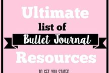 All Things Bullet Journal / Bullet Journal Daily, Weekly, Monthly, and Yearly layouts, habit trackers, bullet journal collection ideas, how to guides, pen and marker supply suggestions, and more.