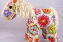 Crochet Me Cute / Crochet that doesn't seem home-icky or dated...it's crochet meets Cute Overload. / by Kimberly Hodoway