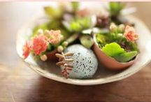 Eggs, Easter, and a Nest / Inspirational in so many ways. And a lovely excuse to craft.