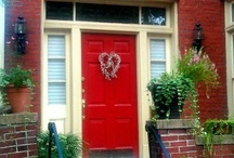 Crazy About Red Doors.........