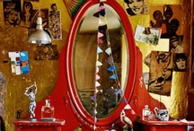 Crazy About Vanities ...... A Vanity Redo ........ / I have never had and always wanted a vanity. It is something I am on the lookout for now. This is the keeping place for ideas that will help me when I stumble upon the perfect find...........