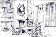 home illustration  / by Francesca Poggi Homestager