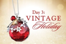 Day 3:Vintage Holiday - Swarovski / by Julie Simpson