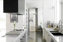 Kitchens - Classic Gray & White