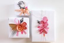 FAVORS / Favors, gift wrap and packaging ideas for all occasions.