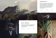 Design: web / Web design inspiration and web design resources