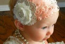 Crazy About Baby Bonnets / Bows/ Hats / Caps...... / I just love a baby girl in a bonnet! Whether it is an heirloom priceless one or a cutesy adorable one, bonnets are a priceless addition to any outfit...... Here is a keeping spot for possibilities for my little Grand........ I do have a large selection of beautiful bonnets saved to my smocking board. Look there for gorgeous smocked ones........ Also included are cute hairbow  hair bow ideas for my GRAND Daughter....