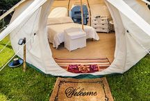 GLAMPING / GLAMPING is glamorous camping.  / by Brenda Flores