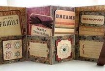 mINi aLBuMs / Tiny little treasures!  I ADORE mini albums!  / by Brenda Berry