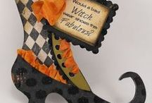 hALLowEeN CarDs/CRafTs / by Brenda Berry