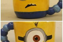 Paint your own mug! / Ideas for painting your own ceramic mug.