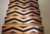 Stair Dare / unique ways to cover stairs