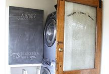 Home: Wash & Dry / Laundry Room / Mud Room inspiration.