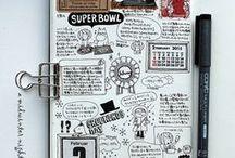 notebooks ideas