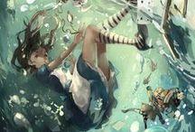 Alice in Wonderland   <( ̄︶ ̄)>