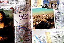 Travel Journal - inspiration - art journaling - student travel - travel blog / Travel Journal Inspiration!!