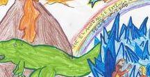Felicita la Navidad con Geología / Concurso organizado por el ICOG de felicitaciones navideñas infantiles en torno al mundo de la geología