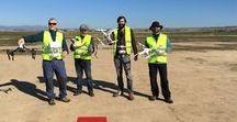 Un trabajo de drones y hombres / Instituto Geológico y Minero de España (IGME). STA y riesgos geológicos. Drones.