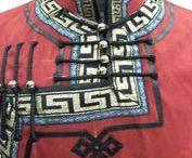 Калмыцкий монгольский костюм